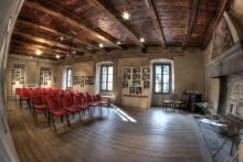 Sala del camino - Ph Massimo Riotti